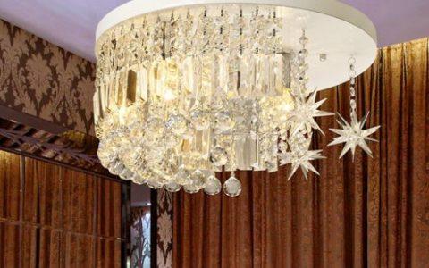 客厅水晶灯怎么安装?