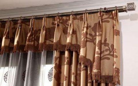 窗帘安装步骤及窗帘两边的固定方法